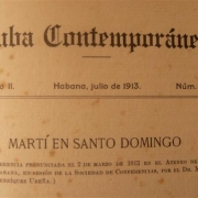 Revista Cuba Contemporánea. Foto tomada de Internet